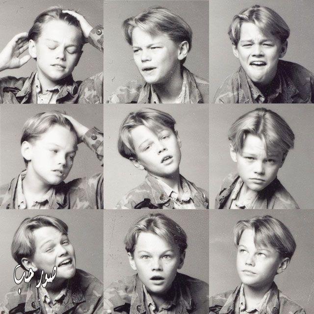 صور ليوناردو دي كابريو الفنان العالمى ليوناردو في مراحل عمره
