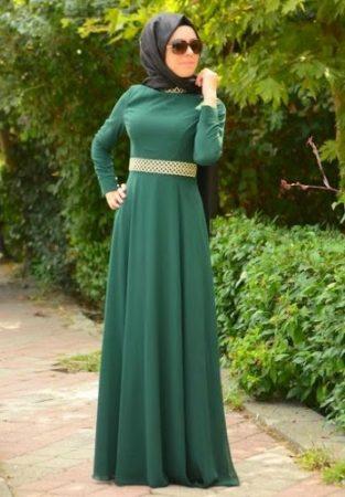 احدث فستان محجبات مودرن (2)