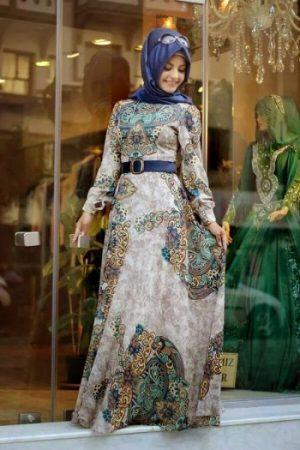 احدث موضة ملابس محجبات تركي جديدة (2)