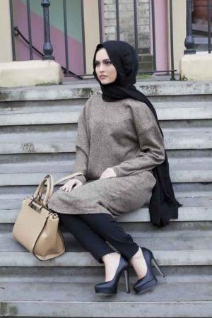 ازياء محجبات تركي ملابس وفاشون حجاب تركي (2)