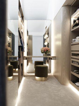 افكار و تصميمات غرف ملابس (1)