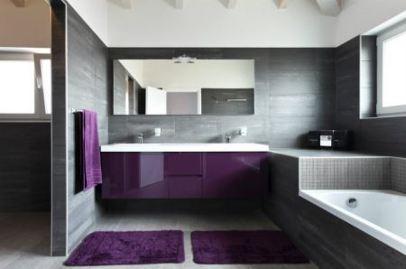 ديكور حمامات حديثة2019 (1)