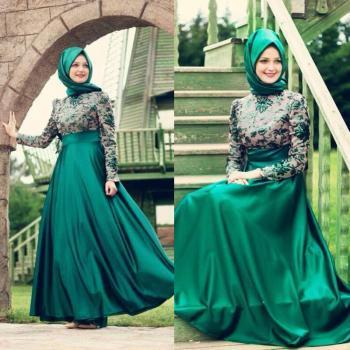صور فستان سواريه شيك فخم جدا (2)