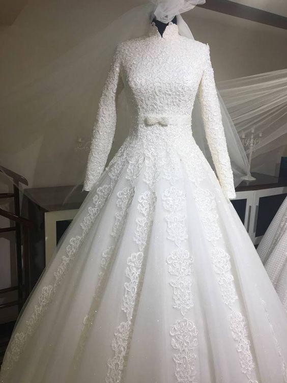 فساتين زفاف 2018 (2)