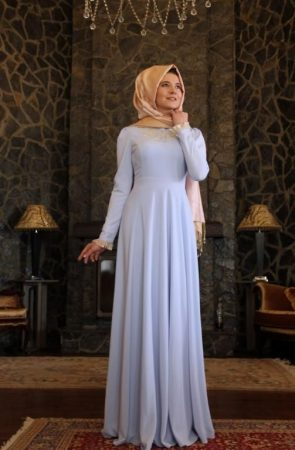 لبس بنات محجبات2019 (2)