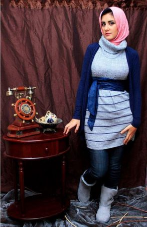 لبس محجبات تركي شيك (3)