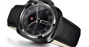 ساعات رادو رجالي Rado Watches - A black watch on a table - RadoHyperChrome_Stainless steel_44.9 mmmm